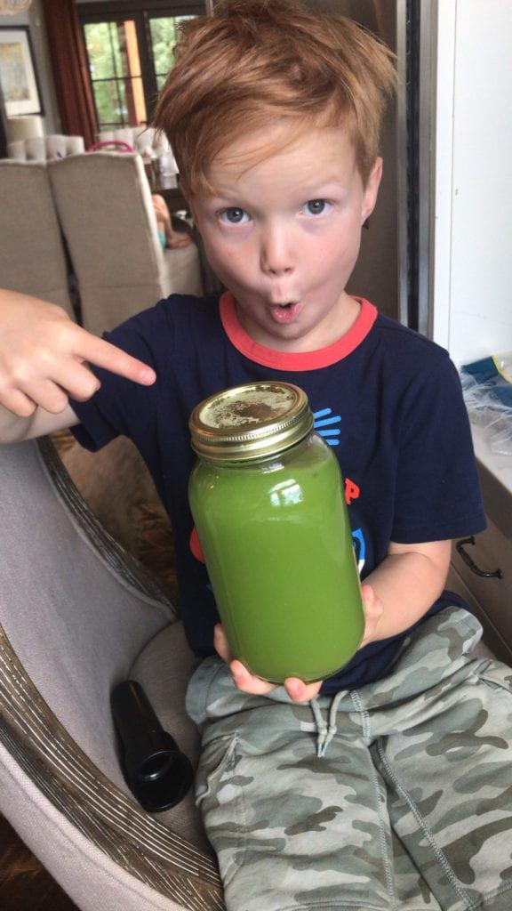 Miller and Celery Juice B