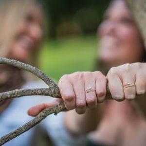 bravery bundle arrow ring